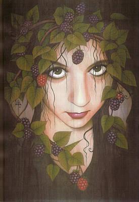 Gothberry Art Print by Yuri Leitch