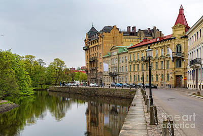 Photograph - Gothenburg Canal And Park by Antony McAulay