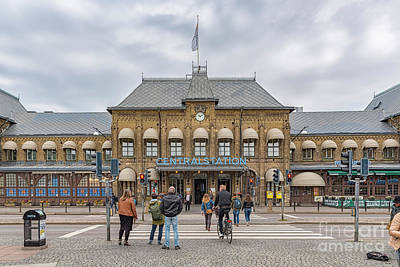 Photograph - Gothenburg Central Station by Antony McAulay