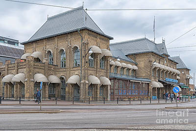 Photograph - Gothenburg Central Train Station by Antony McAulay