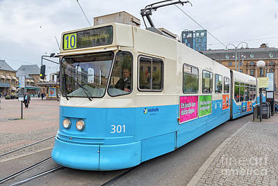 Photograph - Gothenburg City Tram by Antony McAulay