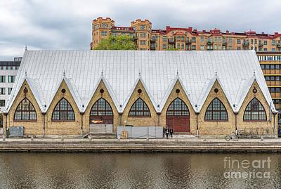 Namaste With Pixels Royalty Free Images - Gothenburg Fish Market Royalty-Free Image by Antony McAulay