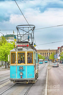 Photograph - Gothenburg Old Styletram by Antony McAulay