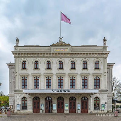Photograph - Gothenburg Stora Teatern by Antony McAulay