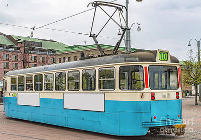 Photograph - Gothenburg Tram Car by Antony McAulay