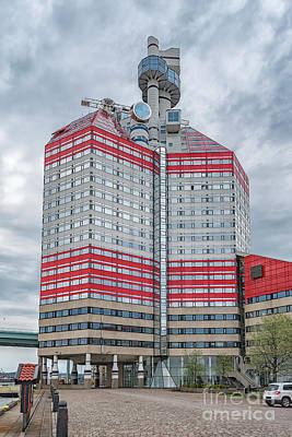 Photograph - Gothenburg Utkiken Building by Antony McAulay