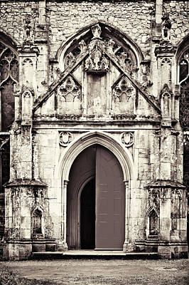 Portal Photograph - Gothic And Grungy by Tom Gowanlock