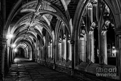 Photograph - Gothic Arches by Debra Fedchin