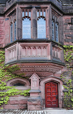 Photograph - Gothic Architecture At Princeton University by Dave Mills