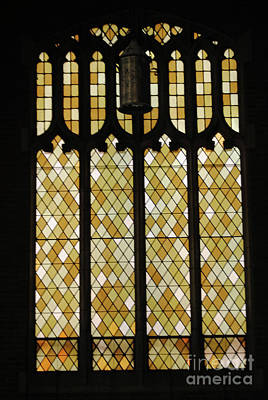 Augustana Photograph - Gothic Autumn Stain Glass by Jost Houk