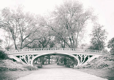 Photograph - Gothic Bridge Nostalgia by Jessica Jenney