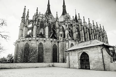 Photograph - Gothic Church Of St Barbara In Kutna Hora by Jenny Rainbow