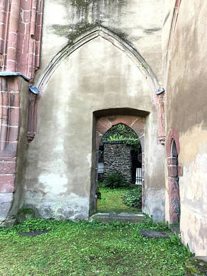 Photograph - Gothic Door by Nancy Merkle