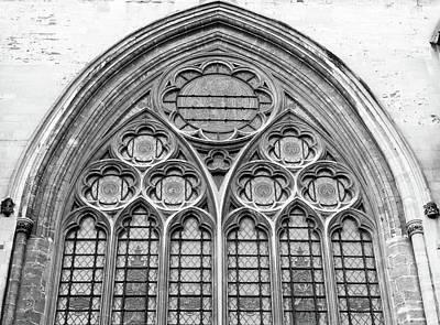 Photograph - Gothic Geometric Tracery B by Jacek Wojnarowski