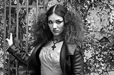 Photograph - Gothic Lolita by Silva Wischeropp