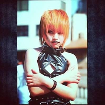 Photograph - Gothic Lolita Tokyo Fashion. Age by XPUNKWOLFMANX Jeff Padget