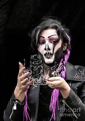 Photograph - Gothic Portrait by David  Hollingworth