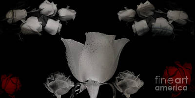 Digital Art - Gothic Romance by Serena Ballard