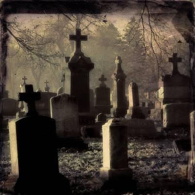Gothic Shades Of Light Art Print