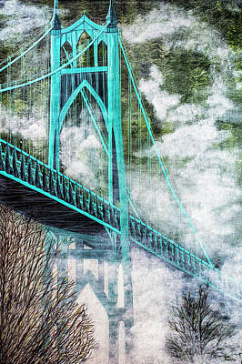 Photograph - Gothic Span by Dee Browning