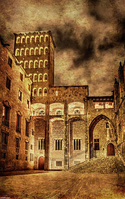 Photograph - Gothic Square In Barcelona by Weston Westmoreland