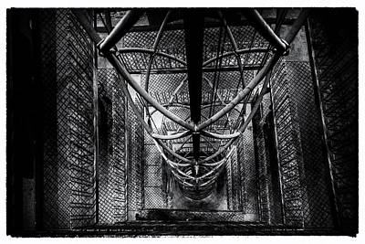 Photograph - Gothic Stairwell by M G Whittingham