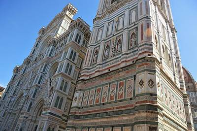 Photograph - Gothic Structure Firenze by JAMART Photography