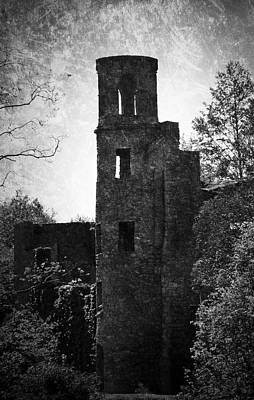 Gothic Tower At Blarney Castle Ireland Art Print