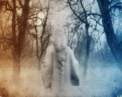 Gothic Walk Art Print by Gothicrow Images