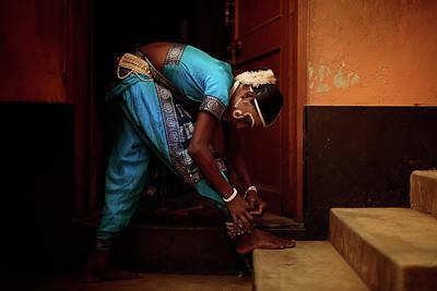 Photograph - Gotipua Costum by Lucas Dragone