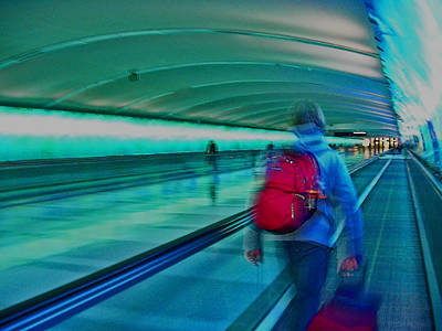 Photograph - Gotta Catch My Plane by Elizabeth Hoskinson