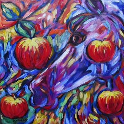 Painting - Gotta Luv Them Rosie Apples I by Dianne  Connolly