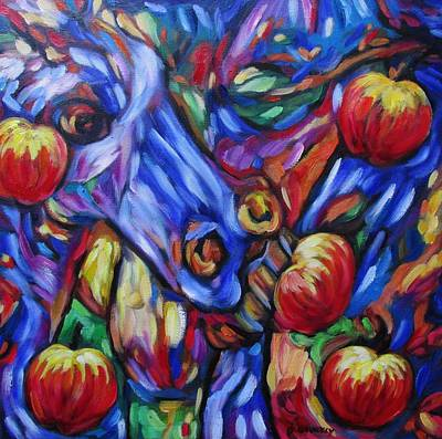Painting - Gotta Luv Them Rosie Apples II by Dianne  Connolly