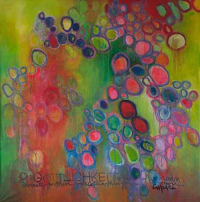 Painting - Gottlichkeit by Laurie Maves ART