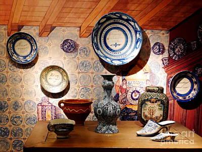 Photograph - Gouda Pottery by Lexa Harpell