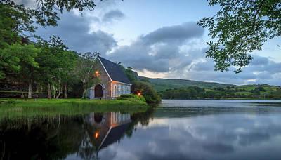 Gougane Barra Church Photograph - Gougane Barra by John Hurley