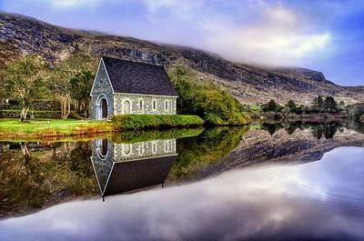 Gougane Barra Mirror Art Print