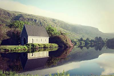 Gougane Barra Church Photograph - Gougane Barra In Ireland Photo by Susan Templin