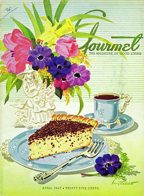 Photograph - Gourmet Cover Of Cream Pie by Henry Stahlhut