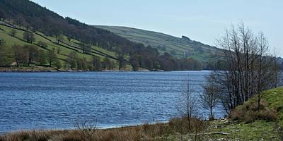 Photograph - Gouthwaite Reservoir by Steve Watson