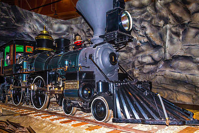 Old West Photograph - Gov Stanford Train by Garry Gay