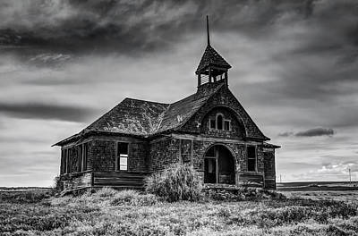 Photograph - Govan Schoolhouse by Mark Kiver