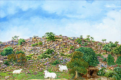 Painting - Govardhan Hill by Dominique Amendola