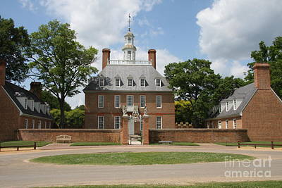 Governers Palace - Williamsburg Va Art Print
