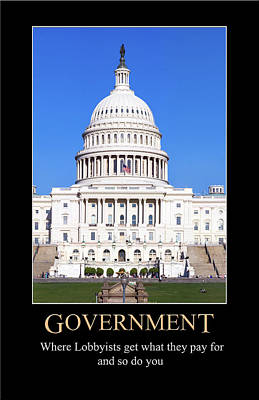 Digital Art - Government by John Haldane