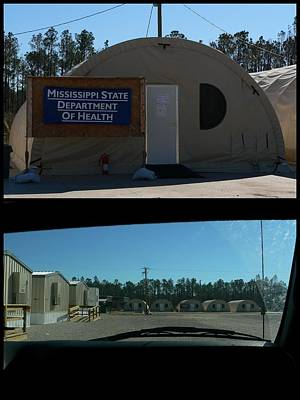 Photograph - Government Offices Post Katrina by Kathy K McClellan