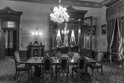 Photograph - Governors Office Michigan  by John McGraw