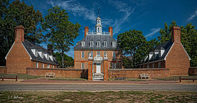 Photograph - Governor's Palace by Christopher Holmes