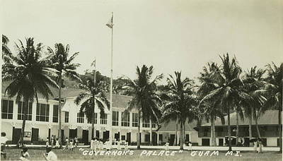 Photograph - Governors Palace Guam by eGuam Photo