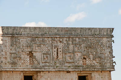 Digital Art - Governors Palace In Uxmal by Carol Ailles
